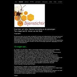 Over bijen, gif, lobby, falende beoordeling en de oplossingen. Tien vragen aan Dr. Jeroen van der Sluijs
