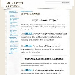 Beowulf Activities - Mr. Arieux's Classroom