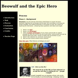 Beowulf and the Epic Hero: Process