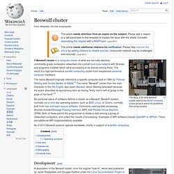 Beowulf (computing)