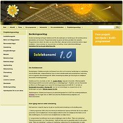 Beräkningsverktyg - SolElProgrammet