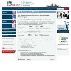 IFB Hamburg: IFB Beratungscenter Wirtschaft