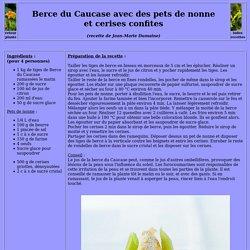 Berce du Caucase avec des pets de nonne