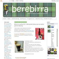 Birra in cucina 2.0: il Birramisù fatto con la nostra porter Dencity