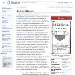 Bérénice (Racine)