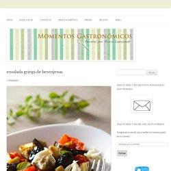 ensalada griega de berenjenas