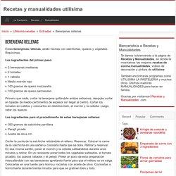 Recetas y manualidades utilisima