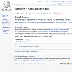 Berenschot (organisatieadviesbureau)