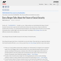 Darcy Bergen Talks About the Future of Social Security