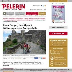 Flora Berger, des Alpes à l'Atlantique vers Compostelle