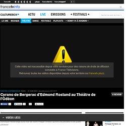Cyrano de Bergerac d'Edmond Rostand au Théâtre de l'Odéon
