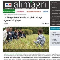 MAAF 11/07/16 La Bergerie nationale en plein virage agro-écologique