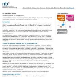 Maurice Bergeron Agile - Management à la puissance Agile