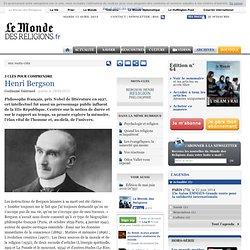 Henri Bergson - Édition de mai-juin 2012 (n°53)