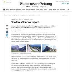 Bergtour, leicht - Vorderes Sonnwendjoch