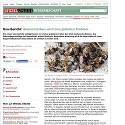 Uno-Bericht: Bienensterben wird zum globalen Problem - SPIEGEL ONLINE - Nachrichten - Wissenschaft