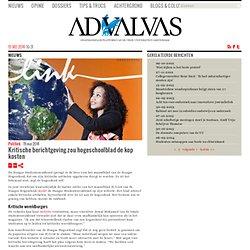 advalvas: Kritische berichtgeving zou hogeschoolblad de kop kosten