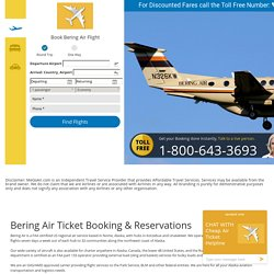 Bering Air Ticket Reservations - Megoair