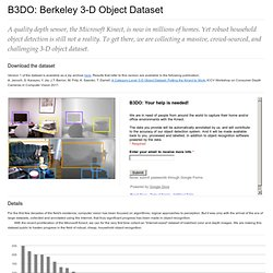 Berkeley 3-D Object Dataset