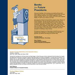 UC Berkeley Summer Reading 2006 - StumbleUpon