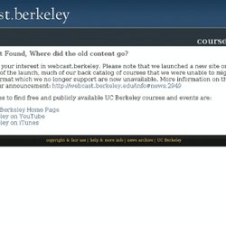 UC Berkeley Webcasts | Video and Podcasts: Psychology 106, 001