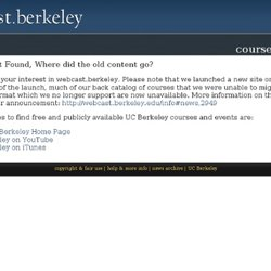 UC Berkeley Webcasts | Video and Podcasts: Philosophy 138, 001