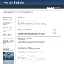 UC Berkley Open Courses