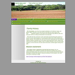 Home - Trew Organic Produce, Berkshire Pork and Shropshire Sheep breeders