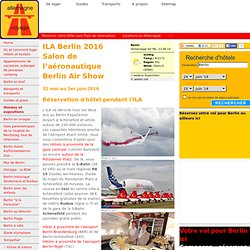 ILA Berlin 2016 - Salon de l'aéronautique