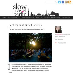 Berlin's Best Beer Gardens