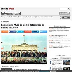 La caída del Muro de Berlín, fotografías de un hito histórico