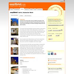 Cheap Hotel Room in Berlin Budget Hotel Berlin Germany, easyHotel