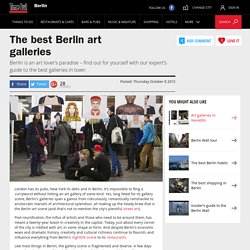 Berlin Art – Guide to Galleries – Time Out Berlin