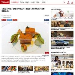 Berlin's 14 Most Important Restaurants