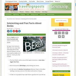 Berlin Interesting Facts