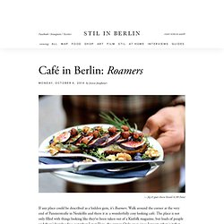 Café in Berlin: Roamers
