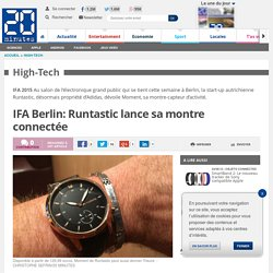 IFA Berlin: Runtastic lance sa montre connectée