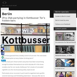 Berlin's secret bars: hidden late-night bars in Kottbusser Tor