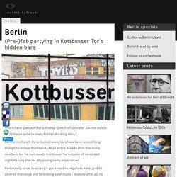 Berlin's secret bars: hidden late-night bars in Kottbusser Tor