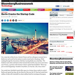 Berlin Cracks the Startup Code