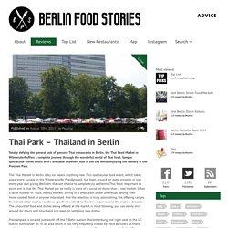 Best Restaurants in Berlin