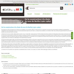 Berlin Wall Special page - CVCE Website