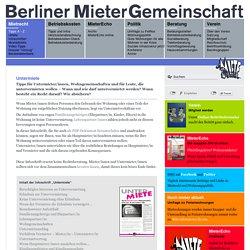 - Berliner MieterGemeinschaft e.V.