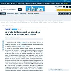 La chute de Berlusconi, un coup très dur pour les affaires de la famille - Flash actualité - Economie - 12/11/2011