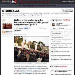 Italie: «Les problèmes des femmes n'ont pas pris fin quand Berlusconi est parti»