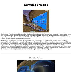 Bermuda Triangle - Devil's Sea