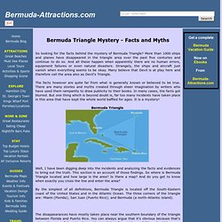 Bermuda Triangle Mystery - Facts and Myths