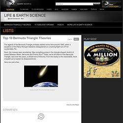 Top 10 Bermuda Triangle Theories