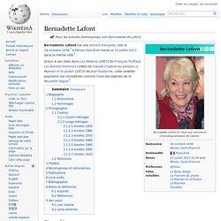 Bernadette Lafont - 1938-2013