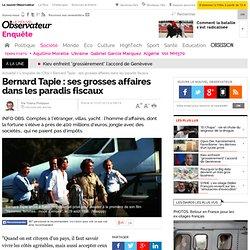 Bernard Tapie : ses grosses affaires dans les paradis fiscaux